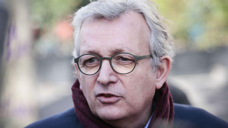 Pierre Laurent, le secrétaire national du Parti communiste français (PCF), à Paris en février 2017. (GEOFFROY VAN DER HASSELT / AFP)