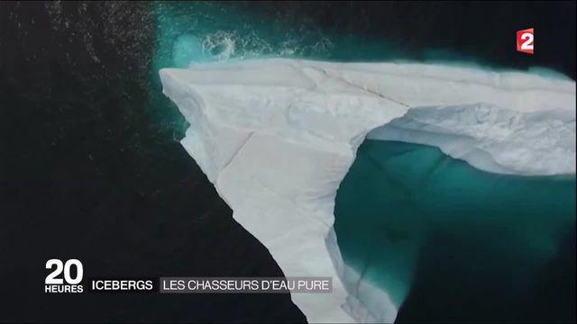 Canada : à la rencontre des chasseurs d'eau pure d'icebergs