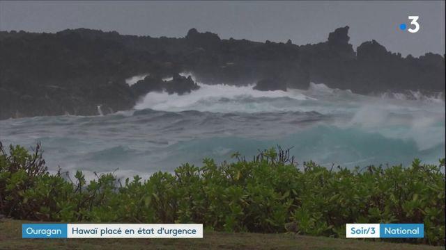 Ouragan : Hawaï placé en état d'urgence