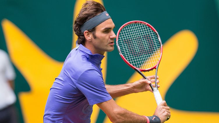 Rogrer Federer a été impressionnant dans la première manche (MAJA HITIJ / DPA)