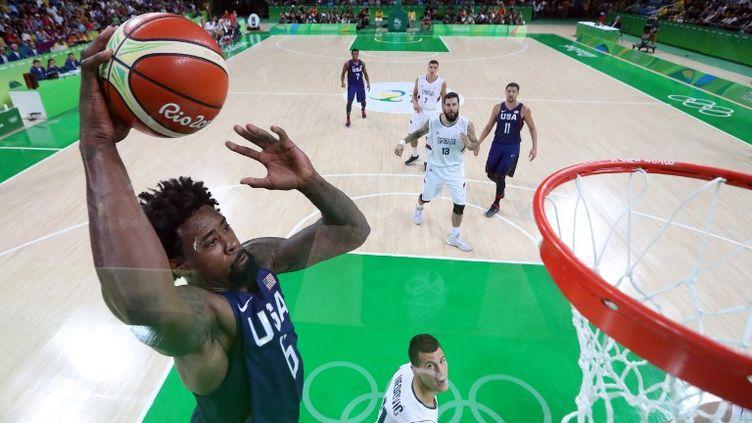 A l'image de DeAndre Jordan les USA ont survolé la finale contre la Serbie (STRINGER / POOL)