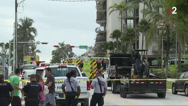 États-Unis : une cinquantaine de disparus après l'effondrement d'un immeuble près de Miami