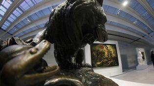 La Galerie du Temps du Louvre-Lens. Au fond, la Liberté guidant le peuple de Delacroix (3 décembre 2012)  (Michel Spingler/AP/SIPA )