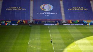 La Copa América 2021 s'ouvre le 13 juin au Stade Mané Garrincha deBrasilia. (JOEDSON ALVES / EFE / MaxPPP)