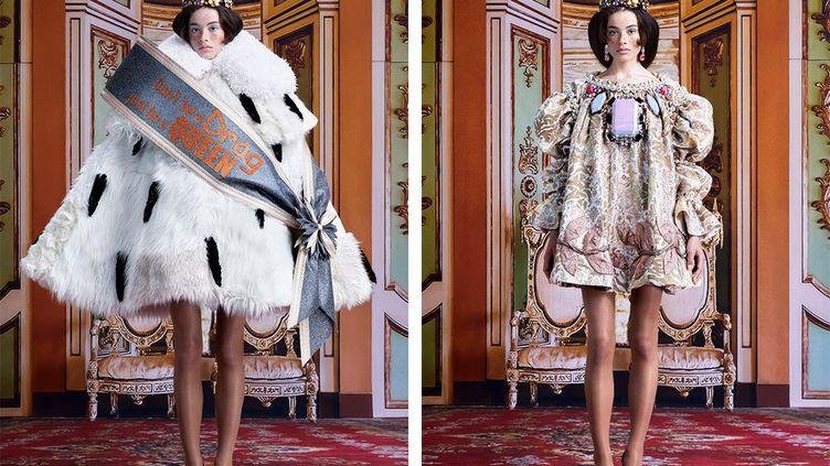 Viktor & Rolf couture automne-hiver 2021-22 à Paris (Courtesy of Viktor & Rolf)