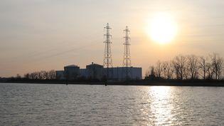 La centrale nucléaire de Fessenheim (Haut-Rhin), le 27 février 2018. (VIOLETTA KUHN / DPA-ZENTRALBILD / AFP)