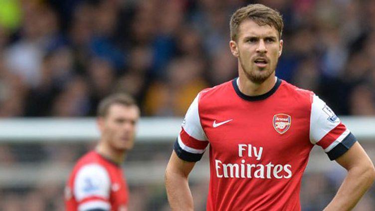 Le joueur d'Arsenal Aaron Ramsey