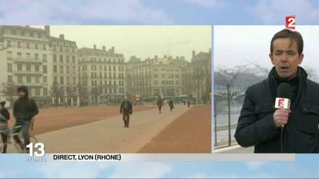 Pic de pollution à Lyon : pas de circulation alternée mais une baisse de la vitesse