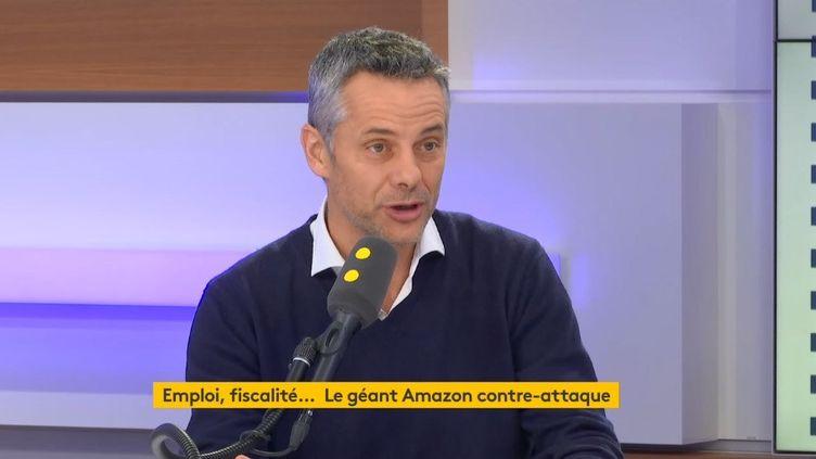 Frédéric Duval, directeur général d'Amazon France. (RADIO FRANCE)