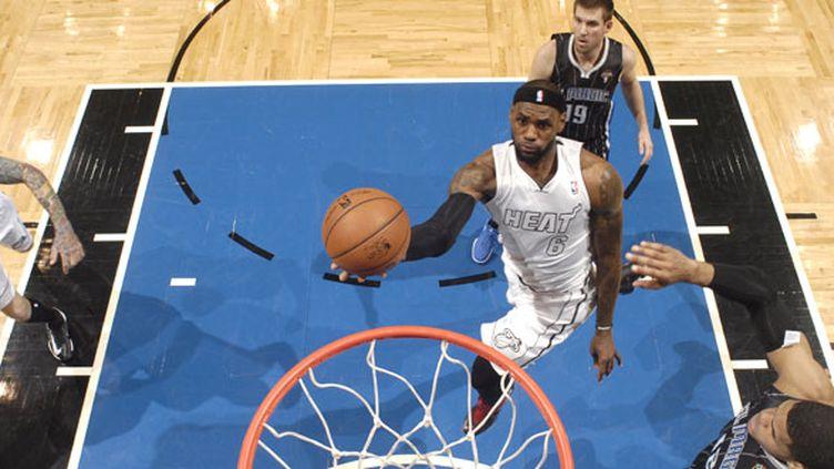 LeBron James, le joueur du Miami Heat