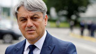 Le directeur général de Renault Luca de Meo, le 28 juin 2021. (LUDOVIC MARIN / POOL)