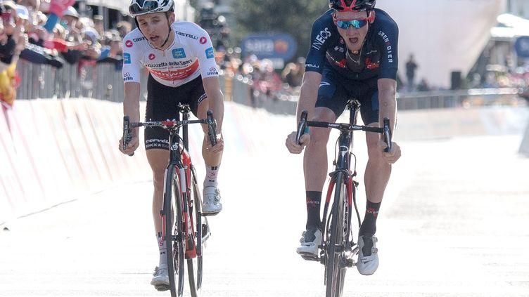 Hindley - Geoghegan Hart, le duel qui a animé le Giro. (LUCA ZENNARO / ANSA)