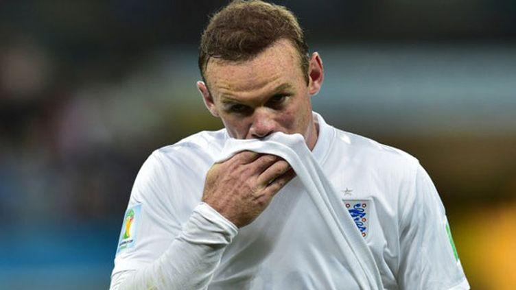 Le joueur anglais Wayne Rooney