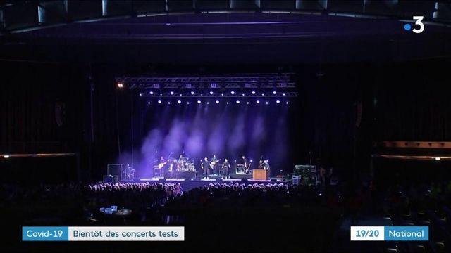Covid-19 : des concerts tests à Marseille et Paris