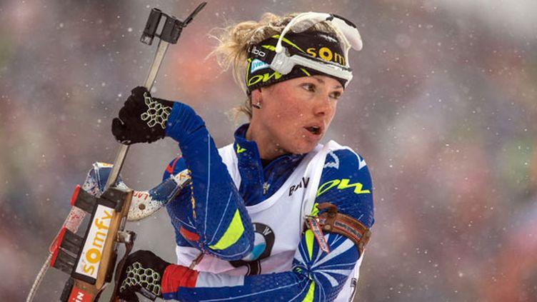 La biathlète tricolore Marie Dorin-Habert