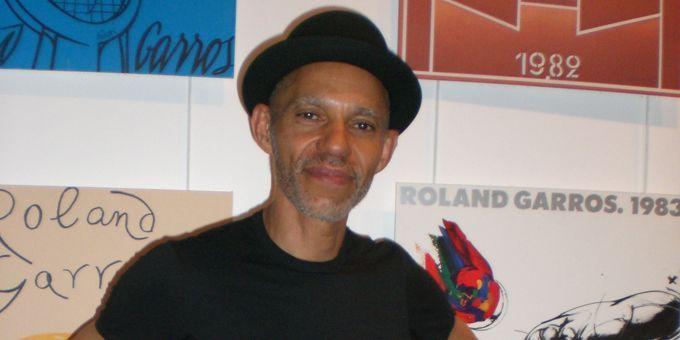 """Ira Coleman le 6 juin 2012 à Paris, après le concert donné dans le cadre du festival """"Jazz à Roland-Garros""""  (Annie Yanbékian)"""