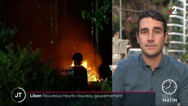 Liban: nouveaux heurts lors de manifestations à la suite de la démission du gouvernement