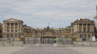 Le château de Versailles est resté fermé pendant trois mois en raison de l'épidémie de coronavirus. (LUDOVIC MARIN / AFP)