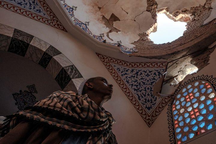 La mosquée al-Nejashi est l'une des plus anciennes de l'Ethiopie. (EDUARDO SOTERAS / AFP)