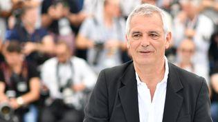 Le réalisateur français Laurent Cantet le 22 mai 2017 à Cannes. (ALBERTO PIZZOLI / AFP)