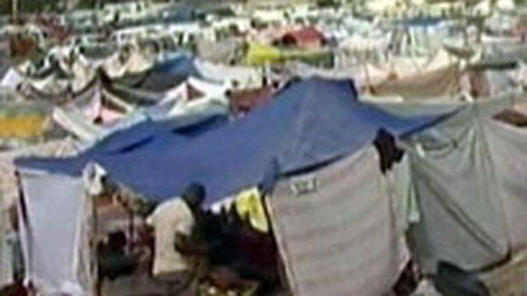 Un million de Haïtiens sont sans-abri après le séisme du 12 janvier (F2)