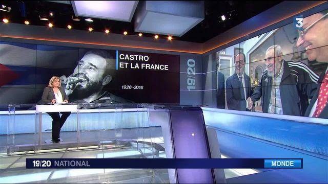 Mort de Fidel Castro : les réactions en France