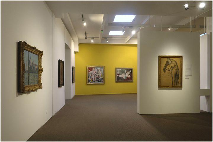 """Exposition """"Paul Valéry et et les peintres"""", Musée Paul Valéry, Sète ((c) Gilles Hutchinson)"""