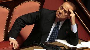 Silvio Berlusconi, le 2 octobre 2013 à Rome (Italie). (TONY GENTILE / REUTERS)