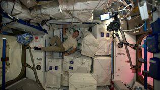 Thomas Pesquet dans la Station spatiale internationale (ISS) (ESA / THOMAS PESQUET)