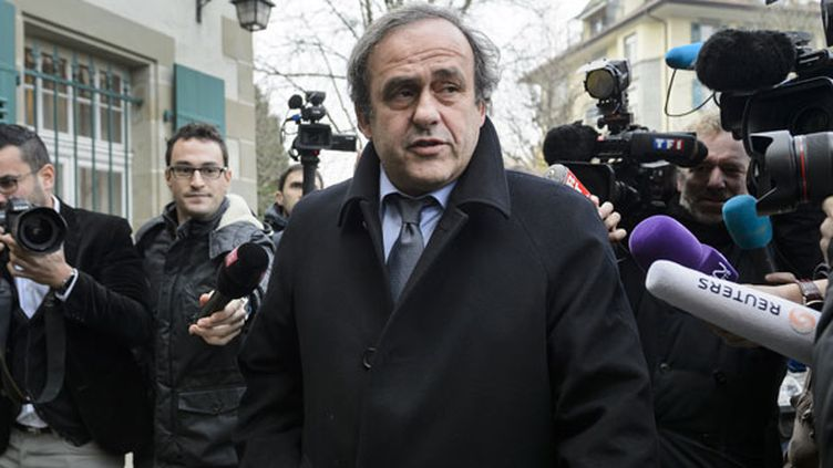 L'ancien international français, Michel Platini en pleine tourmente