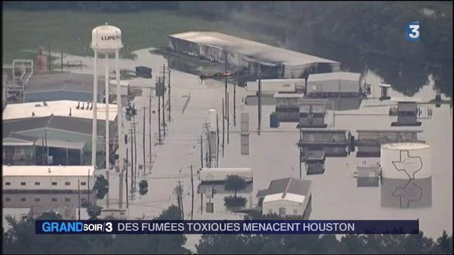 États-Unis : après la tempête Harvey, des fumées toxiques menacent Houston
