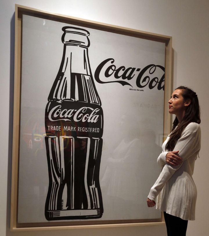 """Coca-Cola (3)"" d'Andy Warhol  (Lefteris Pitarakis/AP/SIPA)"