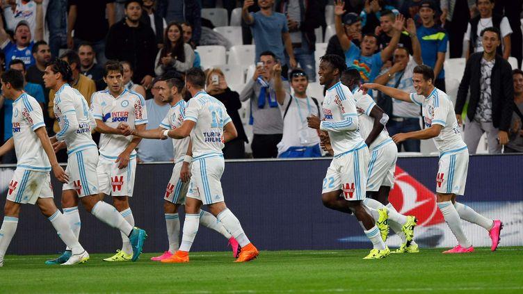 Marseille a sèchement battu Bastia 4-1, dimanche 13 septembre, lors de la 5e journée de Ligue 1. (CLAUDE PARIS / AP / SIPA)