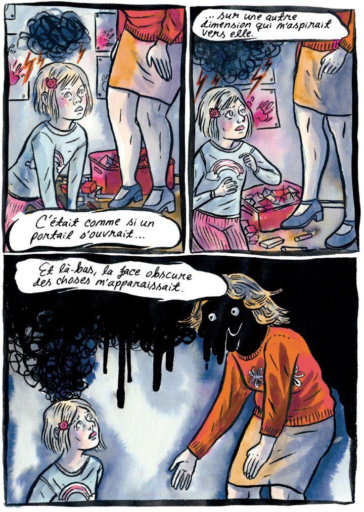 """""""La grâce"""", page 26 (Emmi Valve / Editions Ça et là)"""
