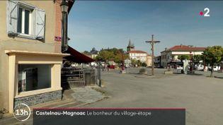 Tour de France 2022 : le village-étape de Castelnau-Magnoac se réjouit déjà des retombées (FRANCE 2)