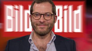 """Julian Reichelt, alors rédacteur en chef du tabloïd allemand """"Bild"""",le 7 juillet 2018, à Cologne. (MALTE OSSOWSKI/SVEN SIMON / SVEN SIMON / AFP)"""