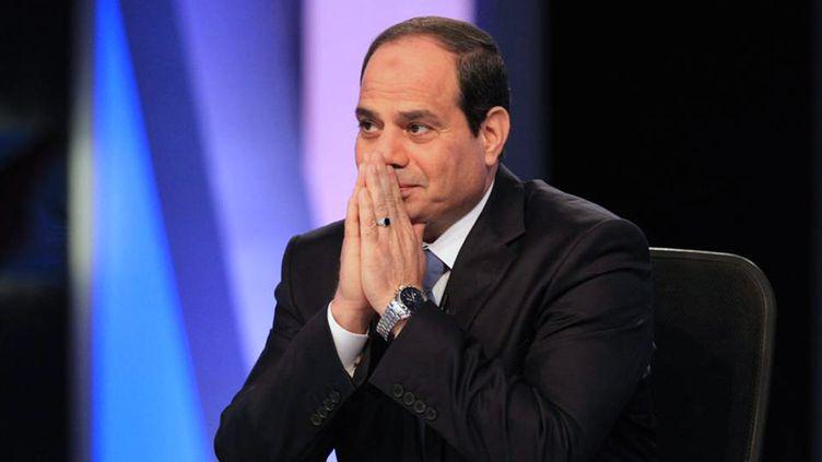 (Abdel Fattah al-Sissi lors d'une interview télévisée au Caire, en mai 2014 © Abdel Fattah al-Sisi)