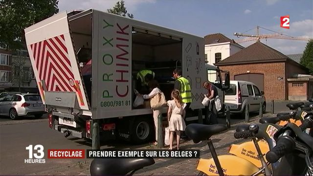 Recyclage : prendre exemple sur les Belges ?