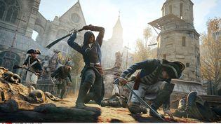 Une image du jeu Assassin's Creed Unity où le joueur incarne Arno, un jeune Parisien qui vit à l'époque de la Révolution française. (SIPA / AP)