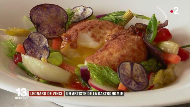 Culture : Léonard de Vinci côté cuisine