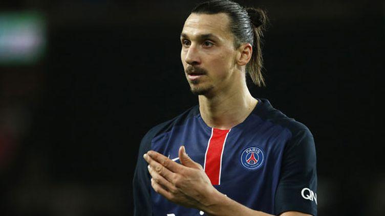 Le joueur du PSG, Zlatan Ibrahimovic