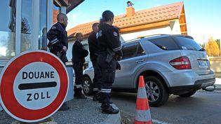 Une douane à la frontière france-suisse de La Cure (Jura). Photo d'illustration. (MAXPPP)