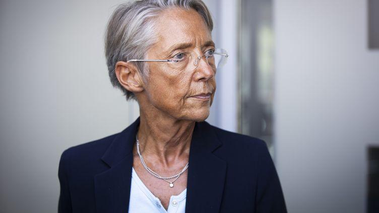 La ministre du TravailÉlisabeth Borne, le 3 septembre 2021. (ALEXIS SCIARD / MAXPPP)