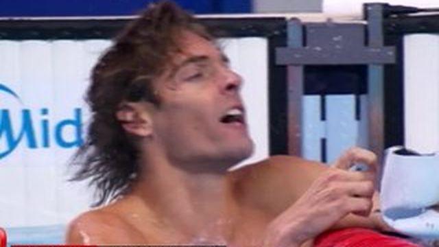 Mondiaux de natation : Camille Lacourt triomphe sur 50 m dos