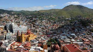 Les immeubles ont tremblé dans la ville de Mexico (Mexique) après un séisme de magnitude 8 enreigstré dans le sud du pays, le 7 septembre 2017. (INAH / NOTIMEX)