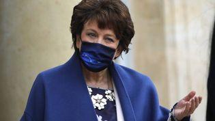 La ministre de la Culture Roselyne Bachelot à l'Elysée à Paris, le 27 janvier 2021 (CHRISTOPHE ENA/AP/SIPA / SIPA)