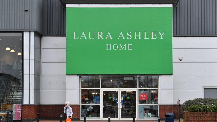 La marque anglaise de vêtements et d'accessoires pour la maison a fait faillite. (PAUL ELLIS / AFP)