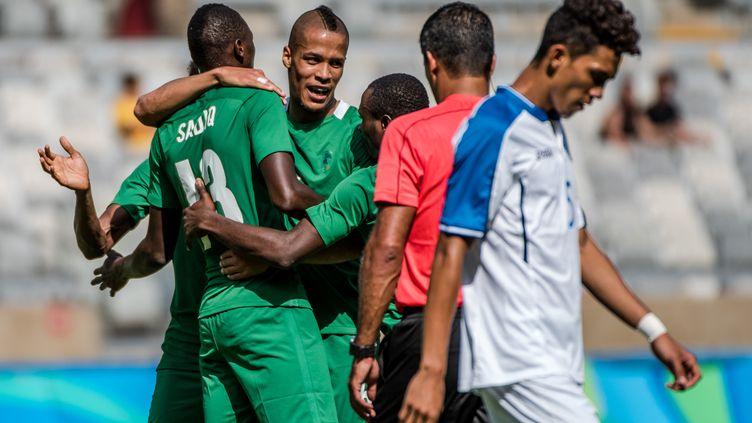 Le Nigeria bat le Honduras  (GUSTAVO ANDRADE / AFP)