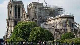 La cathédrale Notre-Dame de Paris, le 10 mai 2019. (BERTRAND GUAY / AFP)