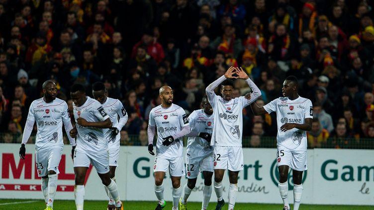 Valenciennes a glané une victoire importante à Lens (PASCAL BONNIERE / MAXPPP)